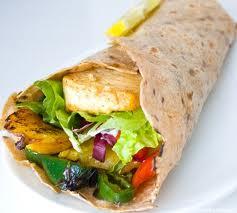 high protein vegetarian recipe tofu wrap